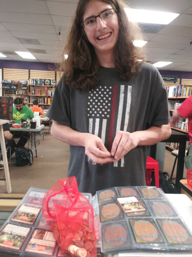 Magic the gathering card collection